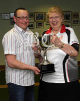 CS1816605 BOWLS league cup win