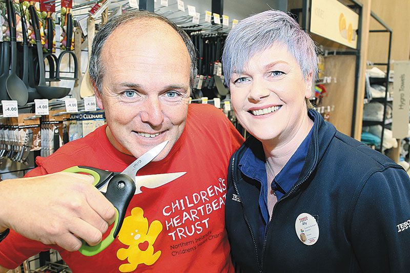 Ally's close shave for colleague's challenge