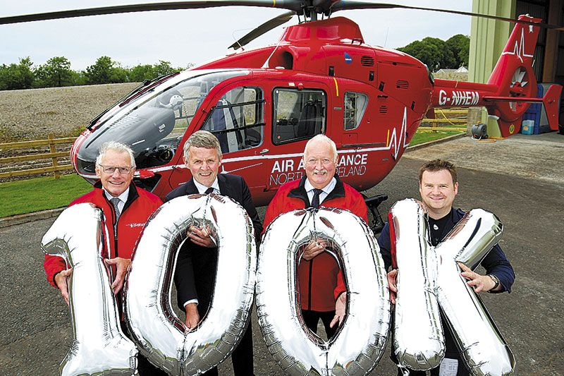 UFU teams up with Air Ambulance for centenary