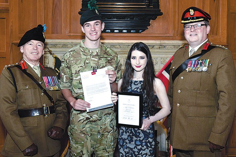 Proud moment for Army Cadets