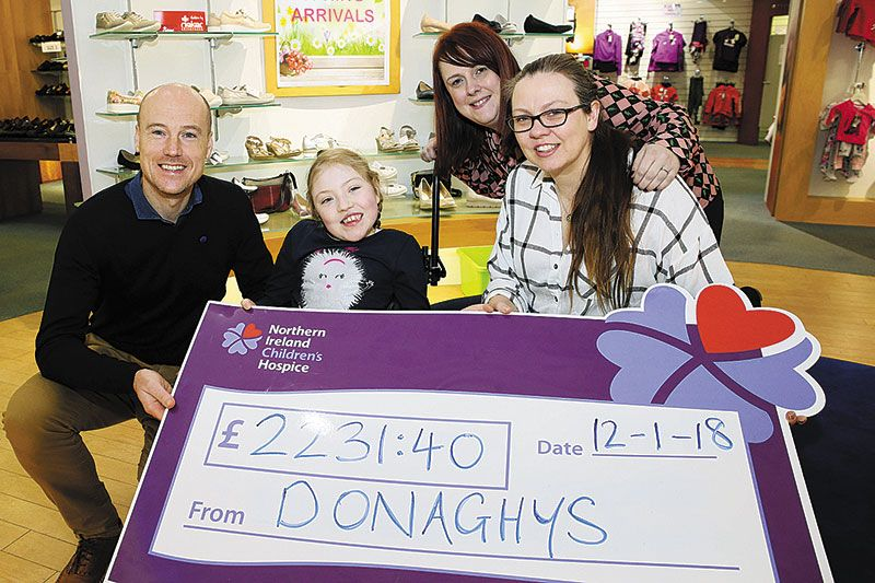 'Santa Saturdays' raise superb sum for NI Children's Hospice