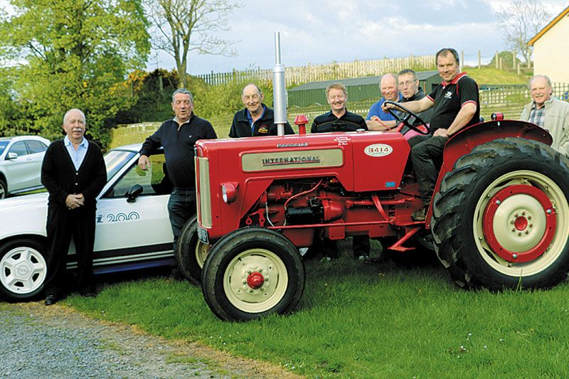 Vintage and classic vehicles gear up for Dromara Show
