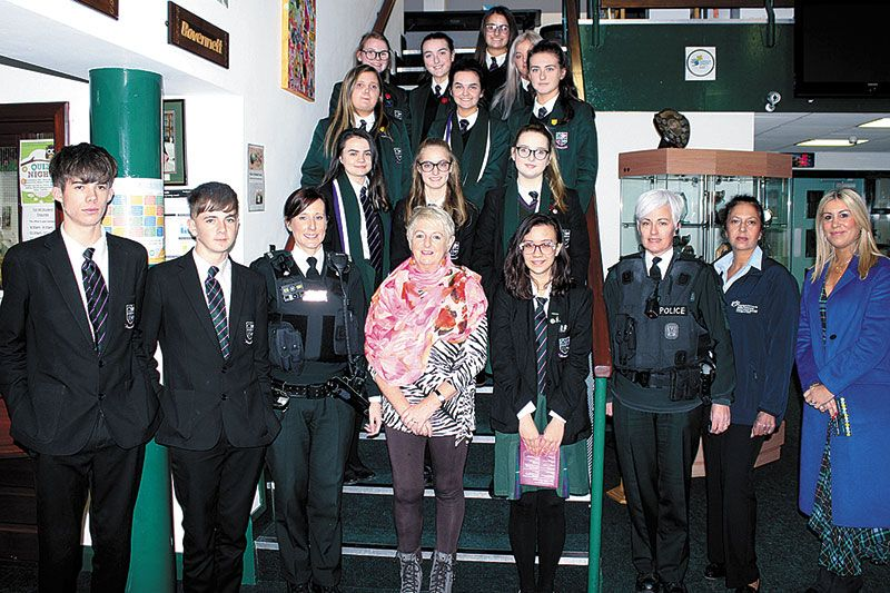 Pupils hear about the harsh reality of drugs