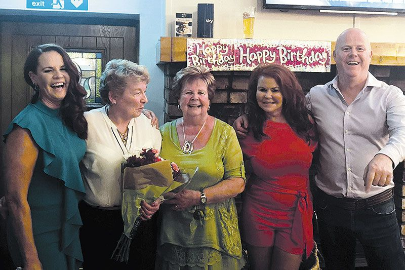 Mairead's 80th birthday donation to Macmillan