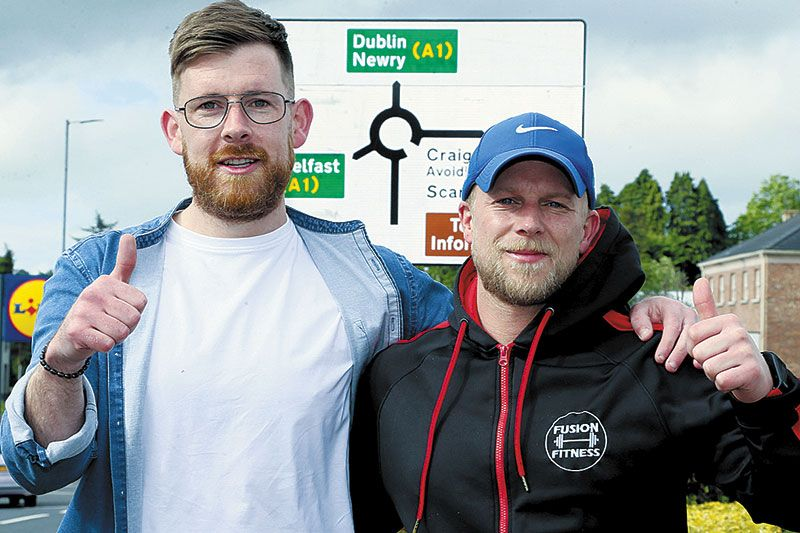 Friends gear up for charity walk from Dublin to Bann