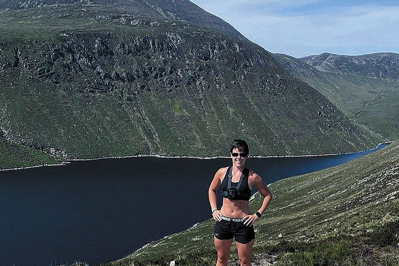 Lynne takes on Mourne challenge for charities