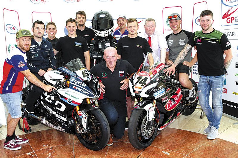 Countdown to Dundrod is gathering pace