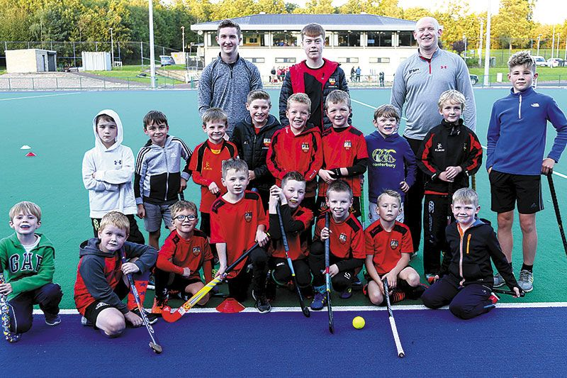 Fast and furious hockey action at Gala Weekend