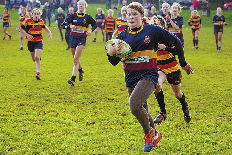 Rugby stars of the future to take part in Girls' Blitz