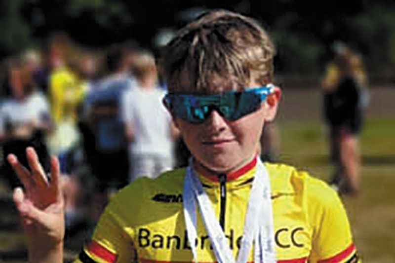 Hat-trick of medals for Ryan