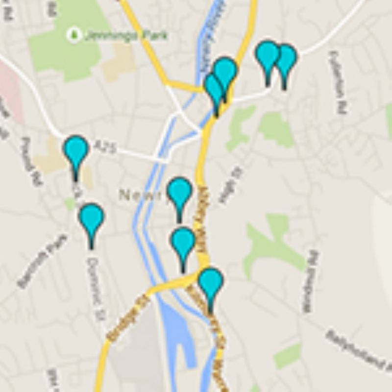 Revahealth Map of Local Dentists