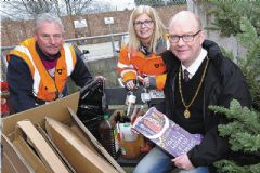 'Tis the season to recycle your festive waste material