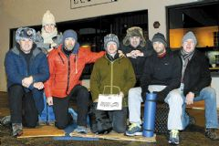 Lions Club's sleep-out event for the homeless