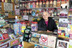 Shop owner Winnie shaken by terrifying armed robbery