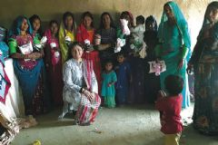 Busy sewing bees support 'Pads for Pakistan' project
