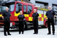 New local wholetime firefighters graduate