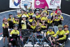 Apollo Rockets saddle up for velodrome experience