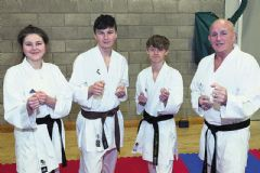 Karate trio selected for European champs