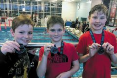 Medal success for young BASC swimmers at gala